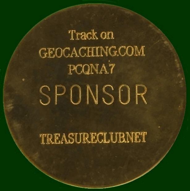 The Armchair Treasure Hunt Club - Resident Geocoin