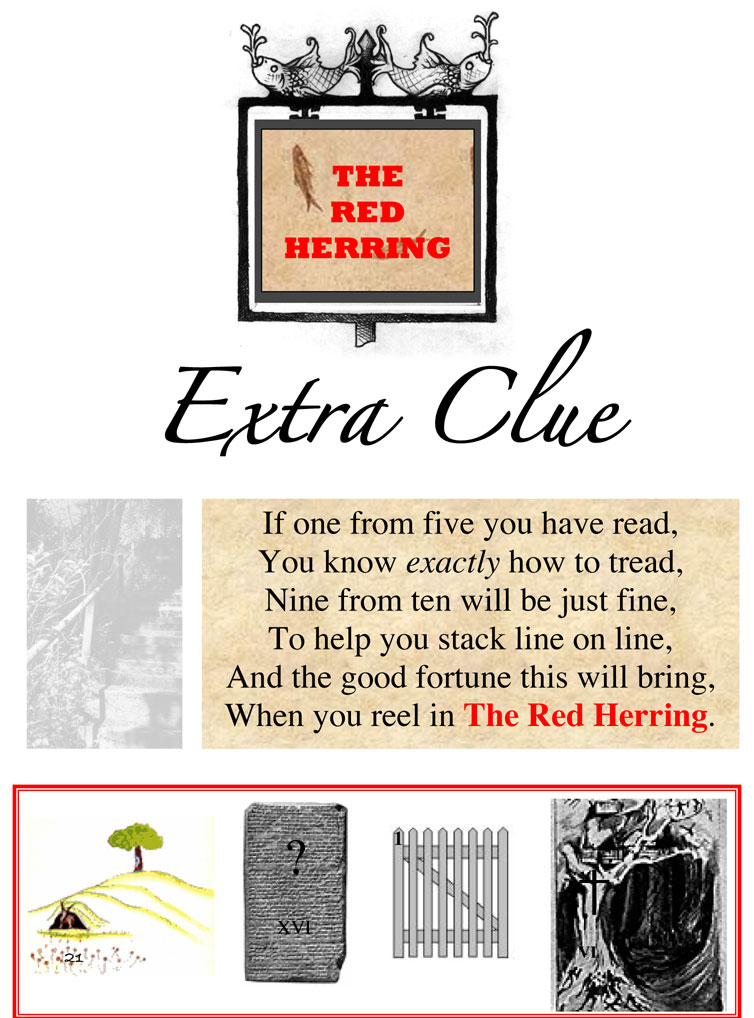 The Armchair Treasure Hunt Club The Red Herring Extra
